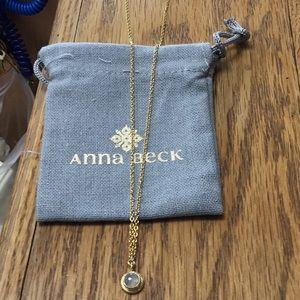 Anna Beck Labradorite Necklace BNWT